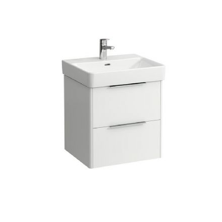 810962 - Laufen Pro S 550mm x 465mm Washbasin (1TH) & Base Vanity Unit - 8.1096.2